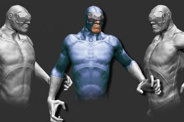 Character Concept Sculpt 3D zbrush design