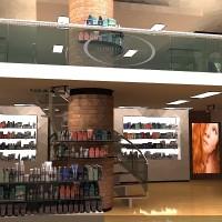 Hair Salon Interior Rendering 3D v-ray architectural interior illustration