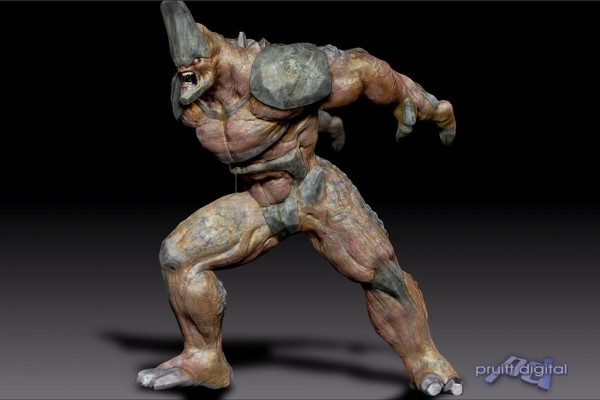 creature design concept illustration 3D model sculpt zbrush