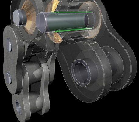 Cut-Away View illustration rendering 3D xray