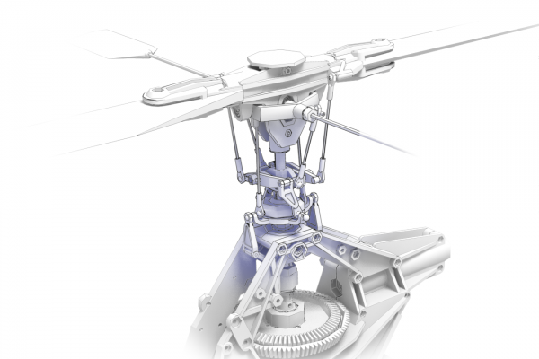 technical illustration rotor assembly