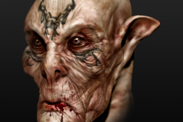character design concept illustration 3D model sculpt zbrush